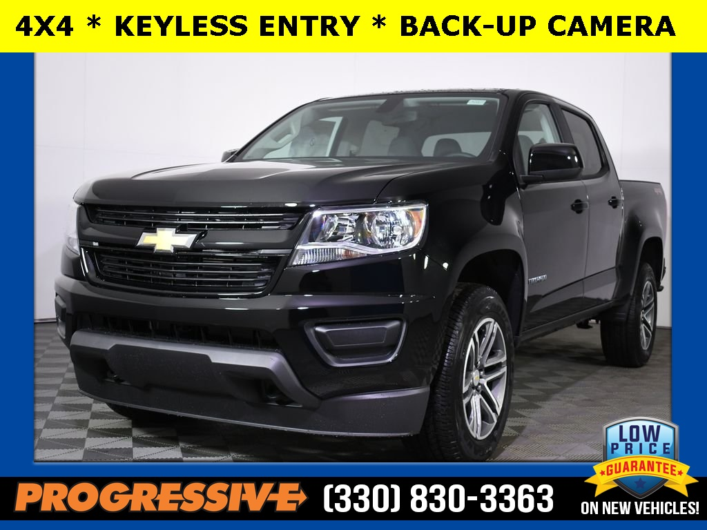 New Chevrolet Colorado Crew Cab 4x4