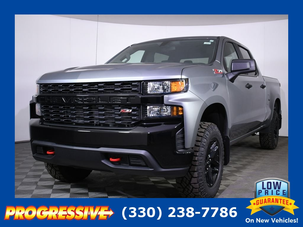 New 2019 Chevrolet Silverado 1500 Custom Trail Boss 4d Crew Cab In