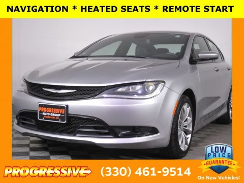 Certified Pre-Owned 2015 Chrysler 200 S